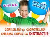 Copilul.ro si Clopotel.ro cheama copiii la distractie!