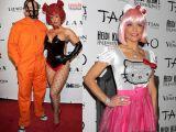 Cum s-au costumat vedetele de Halloween 2011