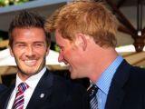 David Beckham s-a distrat intr-un club londonez impreuna cu printul Harry