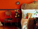Stilul boem de decorare in dormitor