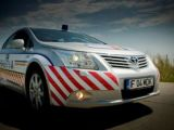 """Toyota Avensis """"patruleaza"""" pe Autostrada Soarelui"""