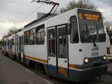 Linia tramvaiului 41, blocata!