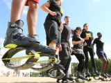 Diana Stirbu, maraton pe ghetele Kangoo Jumps