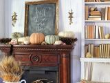 Bring the fall in your  ! 3 ideas for fireplace decoration