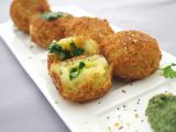 Recipes of  : post meatballs potatoes with green