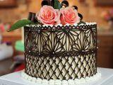 decorare tort ciocolata