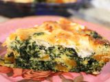 Quice cu spanac, mozzarella si parmezan, fara crusta. O reteta ideala pentru o masa rapida