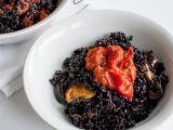 Risotto de orez negru cu legume coapte, o reteta sanatoasa si delicioasa