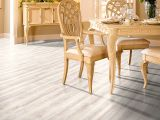 White laminate parquet  – Practical or  ? design