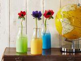 Cum sa creezi vaze colorate din sticle vechi