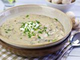 Supa-crema de ciuperci cu iaurt, o reteta asiatica