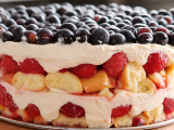 Cake, summer without baking. A in the nuts summer days!