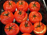 Stuffed Tomatoes cheese with  , ideal for a meal fast