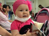 Leucemie la doar 1 an: Drama fetitei care are nevoie urgent de transplant de maduva pentru a trai