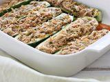 Dovlecei cu pui si mozzarella, ideali pentru cina