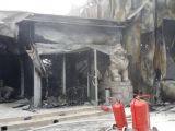 Imagini socante. Ce a ramas din Clubul Bamboo dupa incendiul de azi noapte