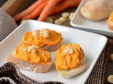 Crema tartinabila din morcov cu ghimbir si curry, un deliciu la primele ore ale zilei