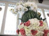 Aranjament superb cu orhidee, begonie si hortensie VIDEO