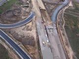 Se intampla in Romania! Autostrada prabusita pe o lungime de 70 de metri!