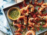 Reteta de vara: creveti la gratar in marinata dulce-acrisoara