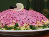 Salata ruseasca de hering afumat cu sflecla, ideala vara