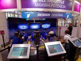 Expozitie aeronautica si aerospatiala prezentata de Boeing, la Bucuresti