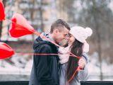 cuplu iarna craciun