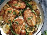 Pui cu lamaie si legume, o reteta delicioasa, pentru cina