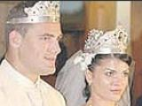 Iftimoaie s-a casatorit religios pe malul marii