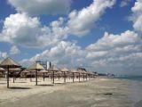 plaja Mamaia umbrele