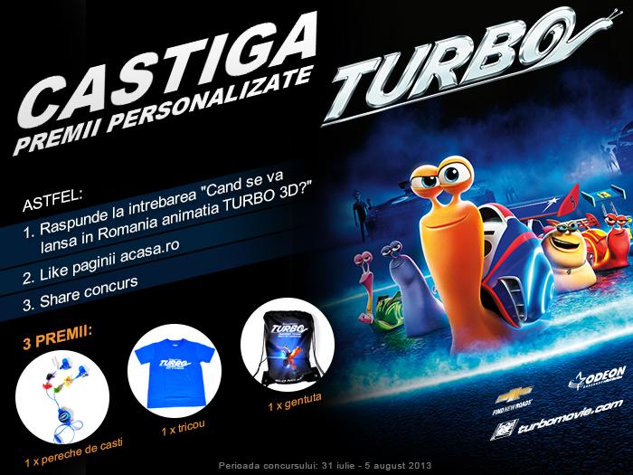 Castiga premii personalizate Turbo!