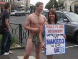 Un cuplu de neozeelandezi se va casatori in pielea goala