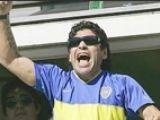 Maradona, din nou pe gazon