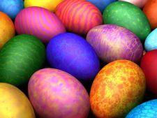 5 modele de oua vopsite de Paste