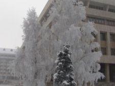 A fost atinsa cea mai scazuta temperatura a iernii in Romania, -26 grade Celsius