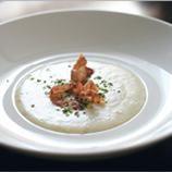 Supa rece de pepene galben cu prosciutto crudo