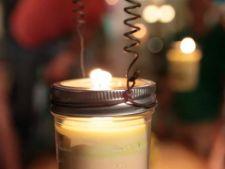 Tine insectele la distanta cu ajutorul unei candele. Iata 5 pasi simpli pentru a o confectiona!