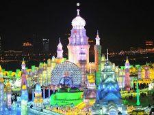 Festivalul Ghetii si al Zapezii din China: cele mai spectaculoase constructii