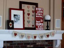 Decorarea casei de Valentine's Day: 4 idei romantice pentru cuibusorul tau de nebunii