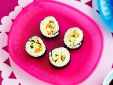Lesson of  : sushi California rolls
