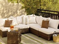 Culorile neutre, o tendinta tot mai des folosita in decorarea terasei