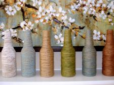 5 modalitati creative de a refolosi sticlele de vin in casa si in afara ei