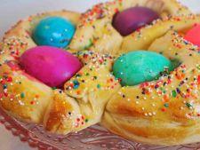 Paine delicioasa pentru masa de Paste