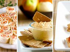 Aperitive pentru masa de Paste: 3 retete creative, rapide si savuroase