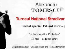 Turneul Stradivarius 2014: 12 concerte extraordinare marca Alexandru Tomescu