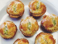 Gustare rapida: mini-pateuri cu pui si broccoli