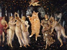 Zarathustra, felina care s-a strecurat in cele mai celebre picturi FOTO
