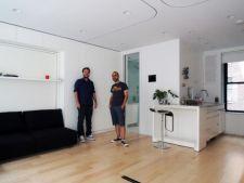 Garsoniera transformata in casa cu opt camere. Proiectul romanilor, implementat in SUA