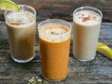 6 smoothie-uri cu pere pentru zile de toamna pline de energie