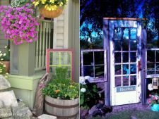 A scaled-down of garden amazing of the and doors old frames window
